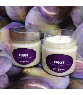 Bougie parfumée à la figue (cire végétale)