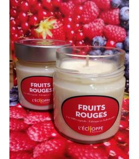 Bougie parfumée aux fruits rouges