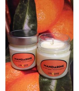Bougie parfumée à la mandarine