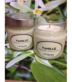 Bougie parfumée à la vanille (cire végétale)