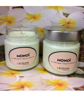 Bougie parfumée au monoï (cire végétale)