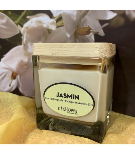 Bougie parfumée aux jasmin (cire végétale)