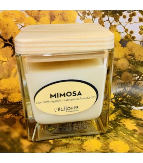 Bougie parfumée aux amandes (cire végétale)