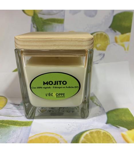 Bougie parfumée Mojito (cire végétale)