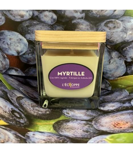 Bougie parfumée à la myrtille (cire végétale)