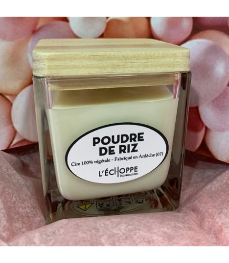 Bougie parfumée pomme caramel (cire végétale)