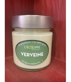 Bougie parfumée à la verveine (cire végétale)
