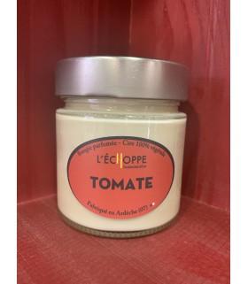 Bougie parfumée à la Tomate (cire végétale)