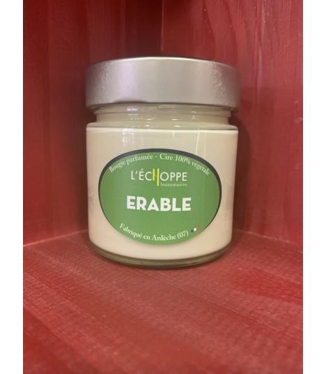 Bougie parfumée à l'érable (cire végétale)