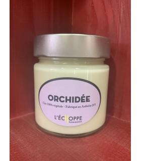 Bougie parfumée Orchidée (cire végétale)