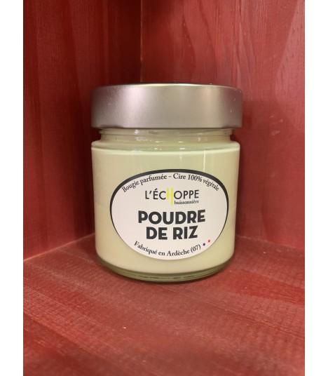 Bougie parfumée poudre de riz (cire végétale)