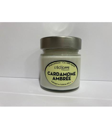 Bougie cire végétale parfumée aux amandes
