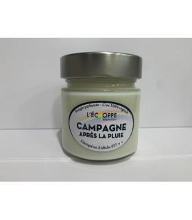 Bougie parfumée Campagne après la pluie (cire végétale)