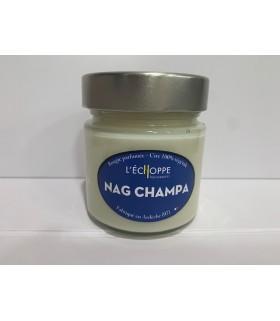 Bougie parfumée Nag Champa (cire végétale)