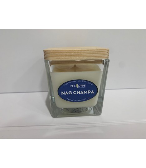 Bougie cire végétale parfumée Nag Champa