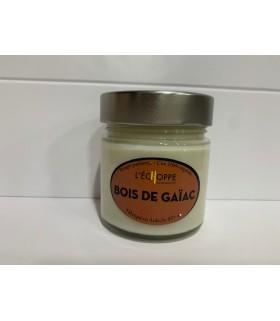 Bougie cire végétale parfumée Bois de Gaïac