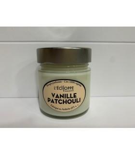 Bougie cire végétale parfumée Vanille Patchouli